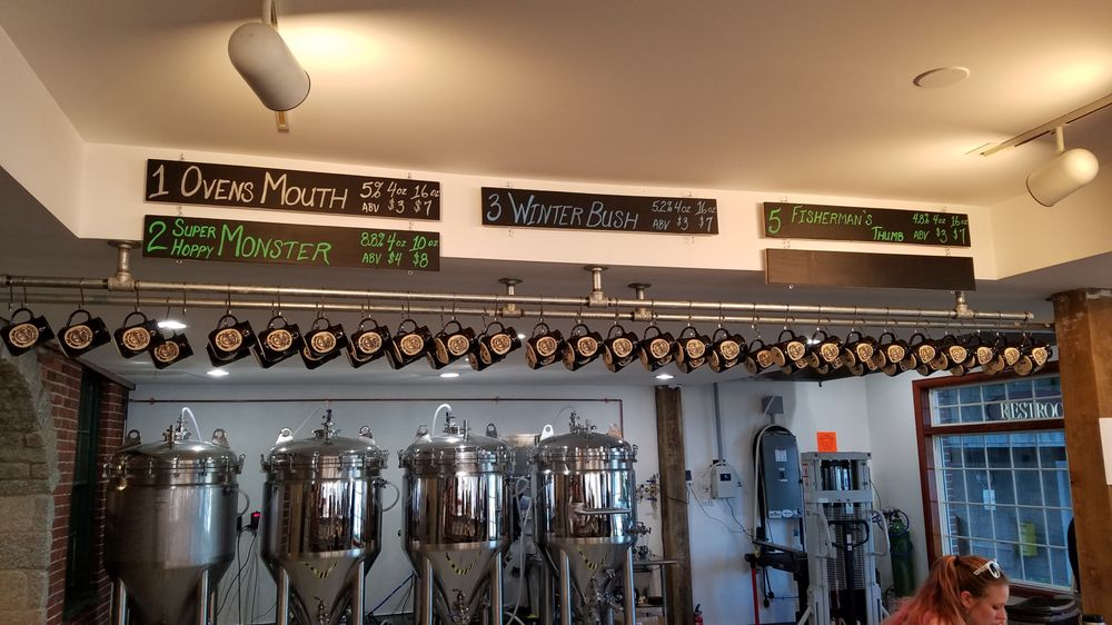 Footbridge Brewery: 25 Granary Way, Boothbay Harbor, ME