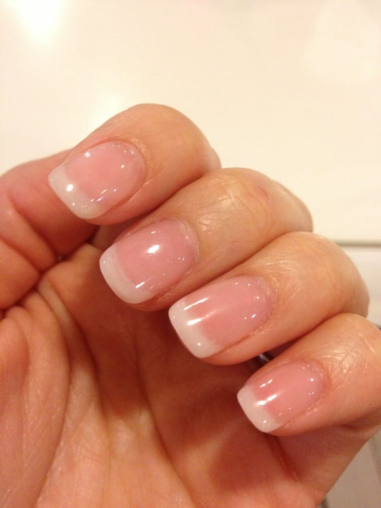 Nail Powder: NEW Diamond Gel Classic Off White-French Manicure With SNS