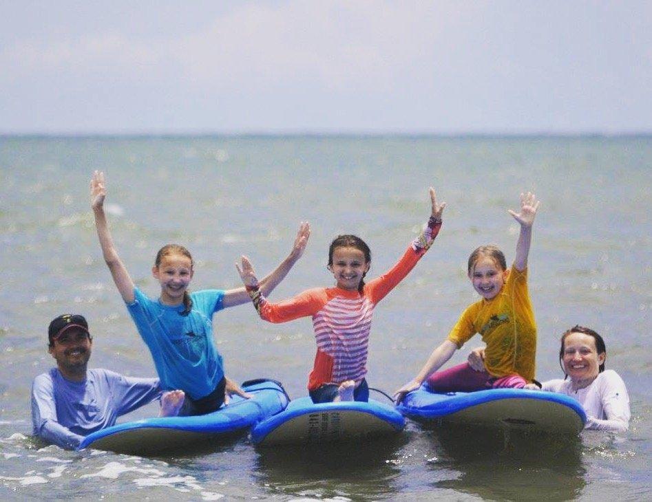 Carolina Salt Surf Lessons