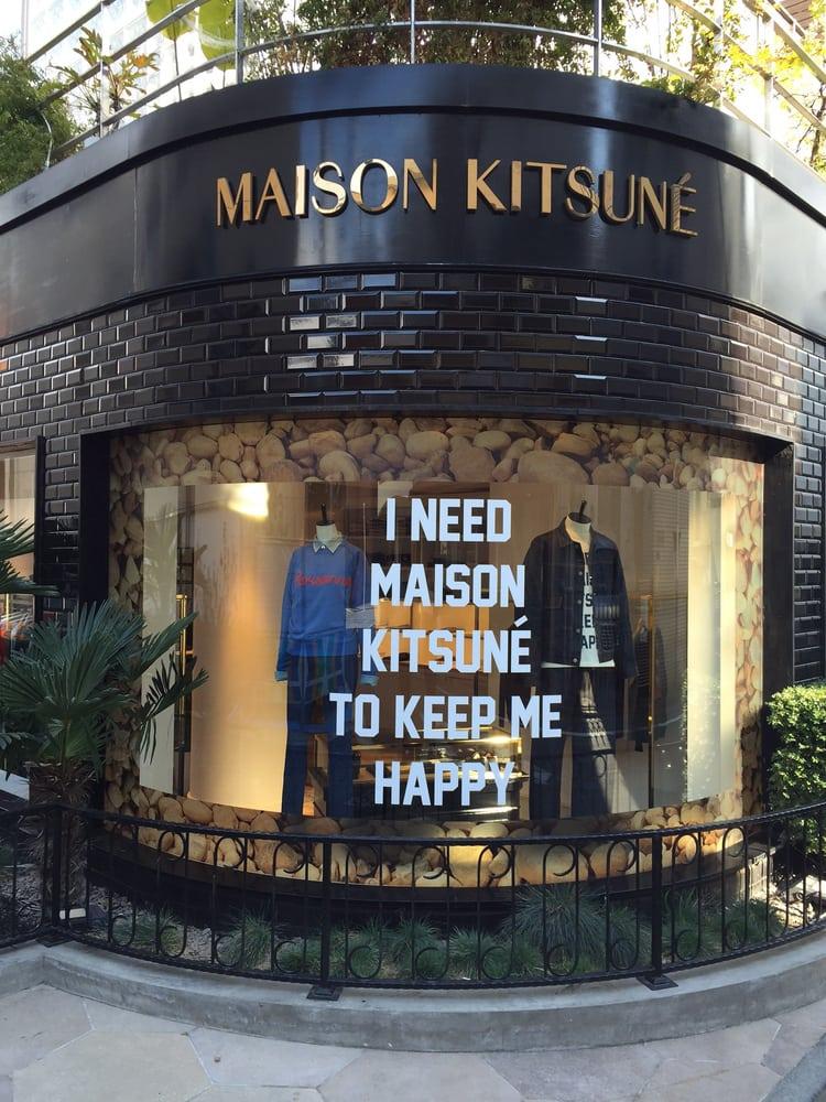 MAISON KITSUNE TOKYO