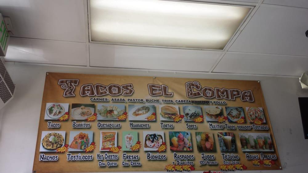 Tacos El Compa: 5821 Gifford Ave, Maywood, CA