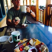 Cheesecake With Fresh Photo Of Roots Farm Cafe Tijeras Nm United States German Breakfast And