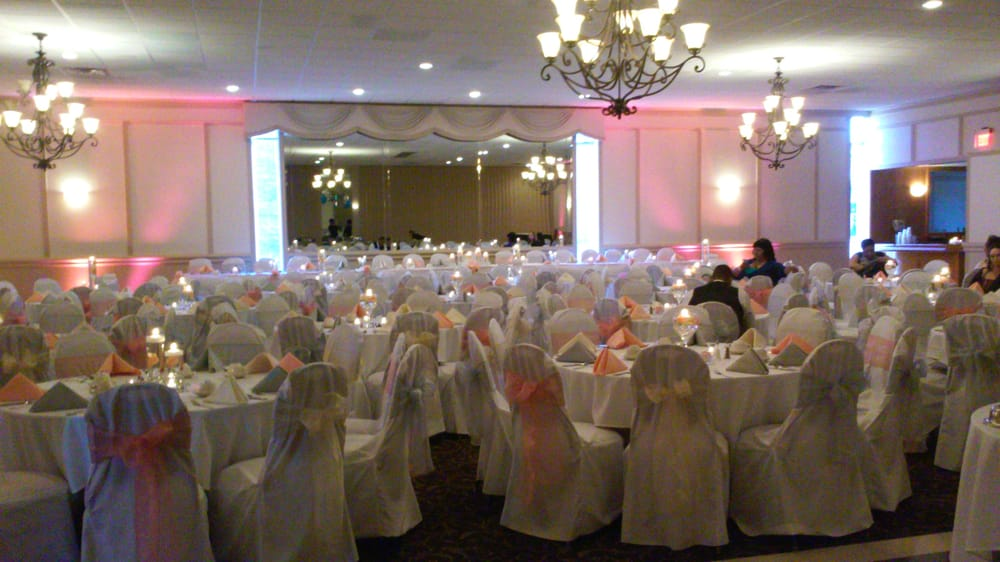 April Wedding Reception Coral Ivory And Silver With Events To