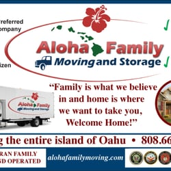 Photo Of Aloha Family Moving And Storage   Pearl City, HI, United States ...