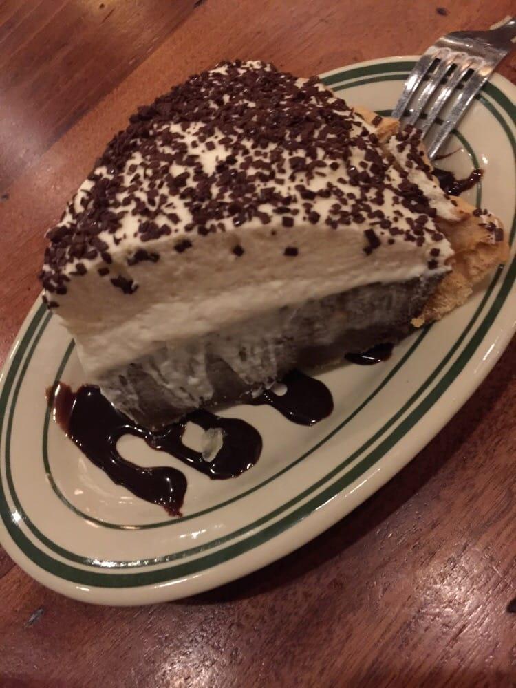 Шоколадно сливочный пирог