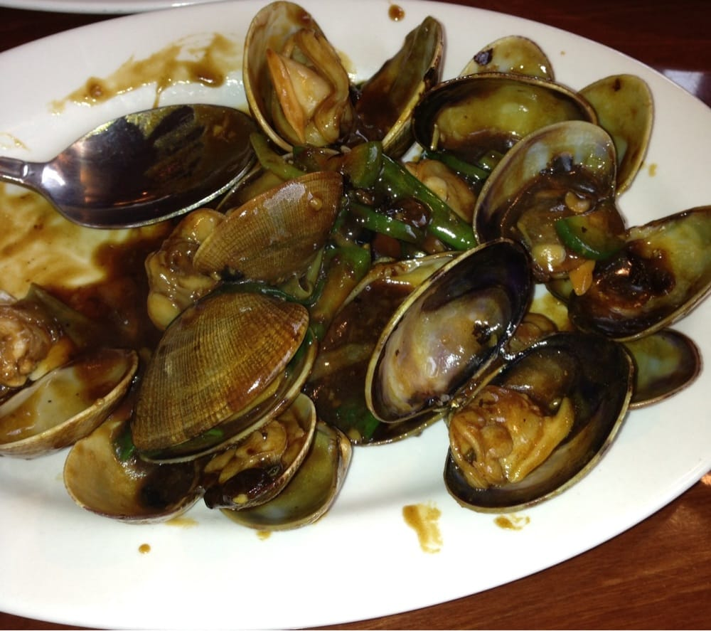 Fungs Kitchen: Black Bean Clams, It Was A Special That This Saturday
