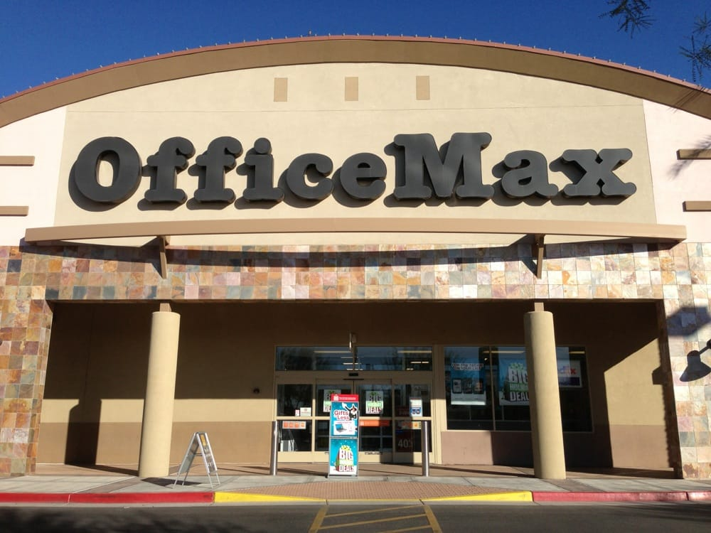 Officemax: 2945 S Alma School Rd, Chandler, AZ