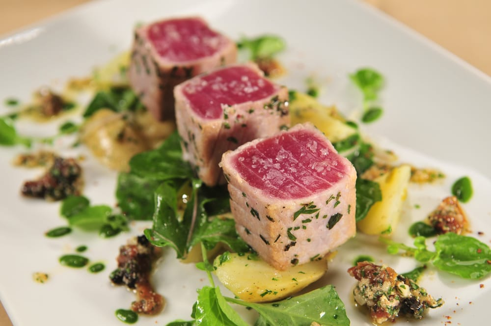 Seared ahi yelp for Ringside fish house