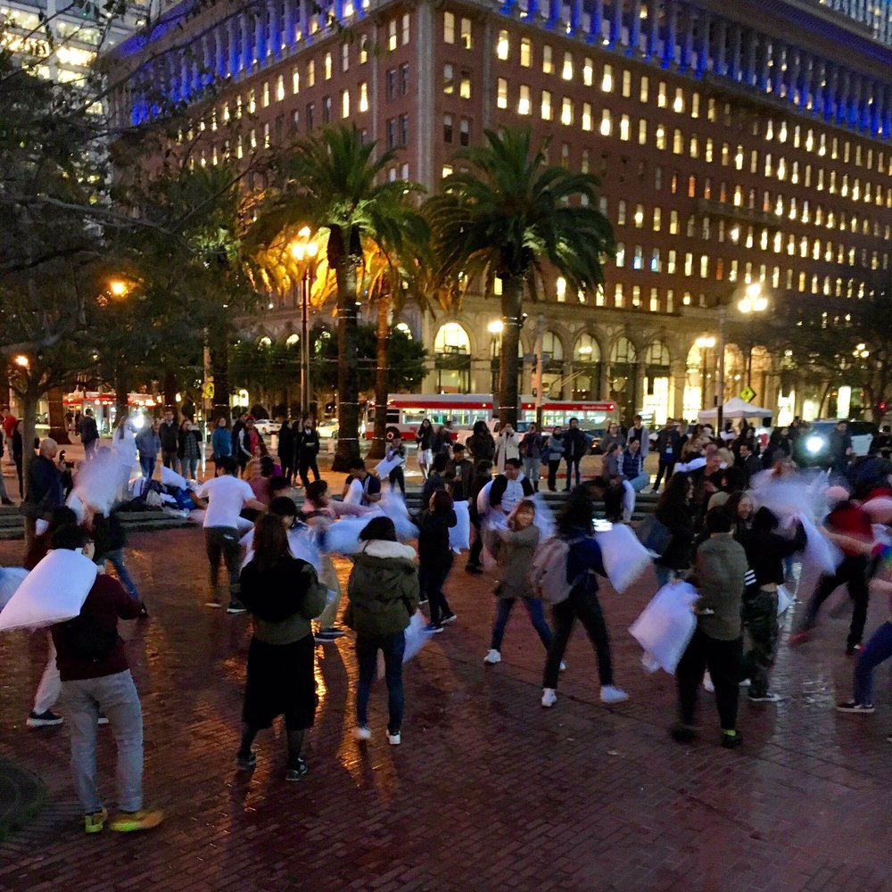 San Francisco Pillow Fight Club