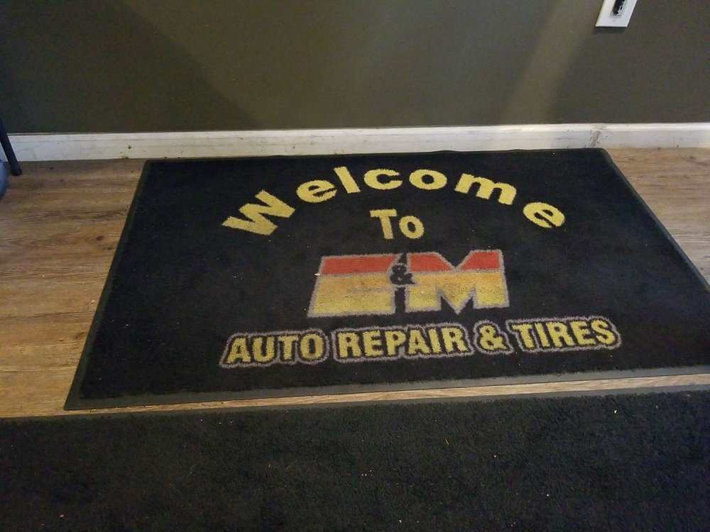 E&M Auto Repair and Tires: 501 Olney Sandy Spring Rd, Sandy Spring, MD