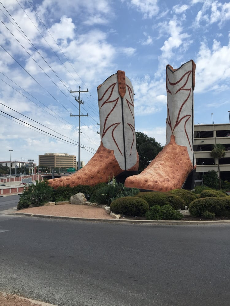World S Largest Cowboy Boots 18 Photos Local Flavor