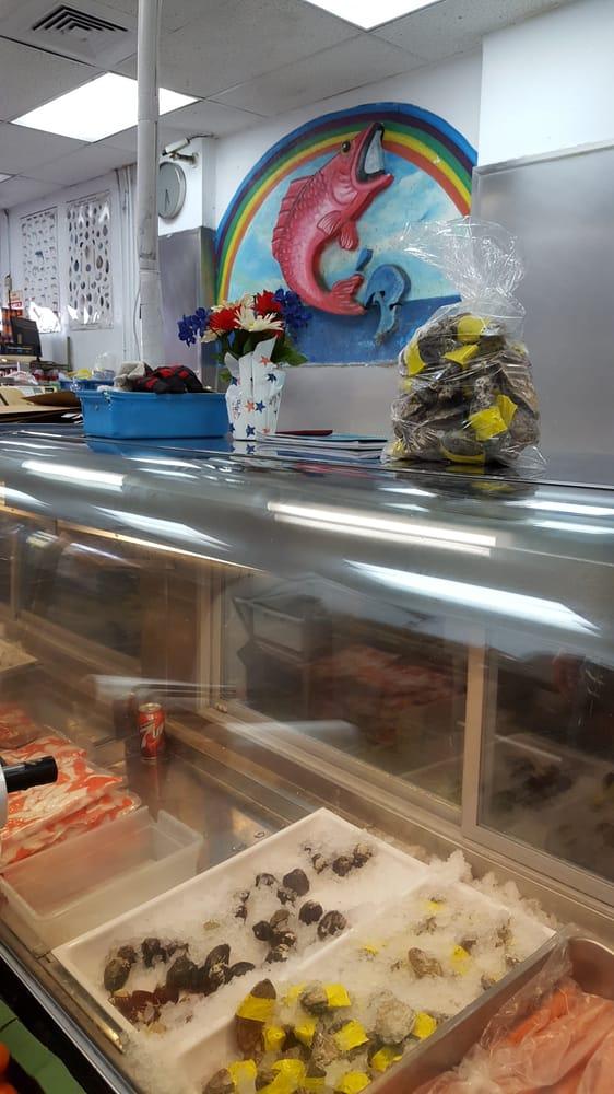 Rainbow seafood market 1107 long beach blvd long for Long beach fish market