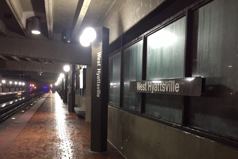 West Hyattsville Metro Station: 2700 Hamilton St, Hyattsville, MD