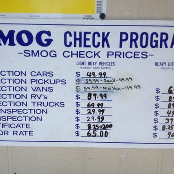 How Much Is A Smog Check >> Moorpark Auto Smog 43 Photos 53 Reviews Auto Repair