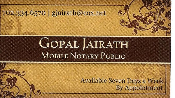 Mobile notary notaries las vegas nv phone number yelp photo of mobile notary las vegas nv united states business card reheart Image collections