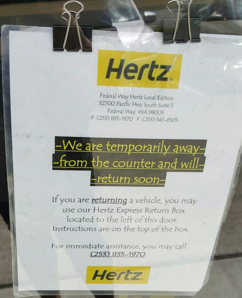 Hertz Rent A Car - 15 Reviews - Car Rental - 32700 Pacific Hwy S ...