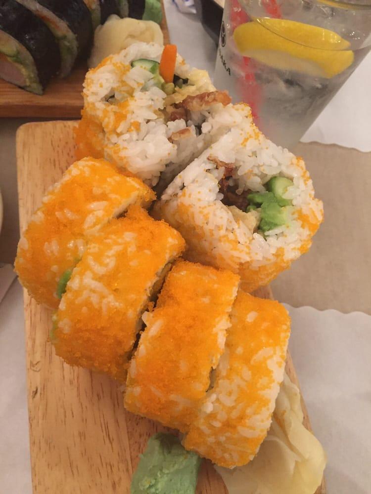 Spider roll yelp for Akasaka japanese cuisine