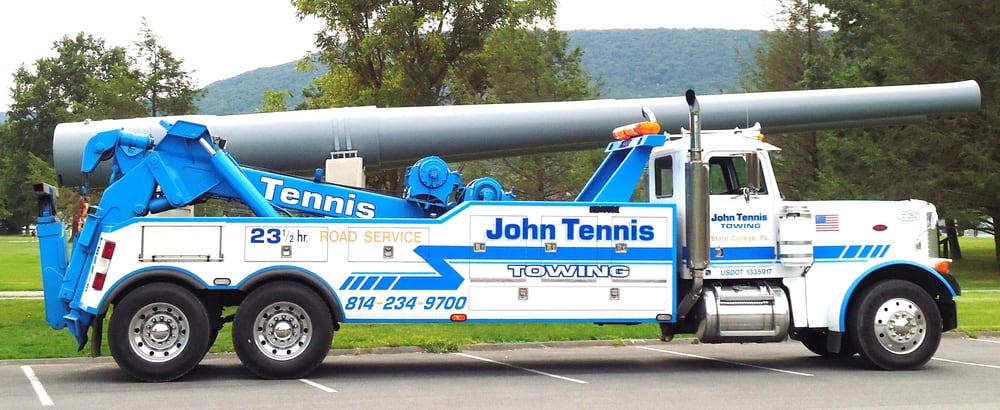John Tennis Towing: 1701 W College Ave, State College, PA
