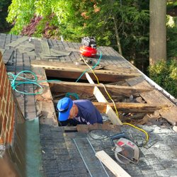 Photo Of Britts Roofing   Alexandria, VA, United States. Roof Rot Repair