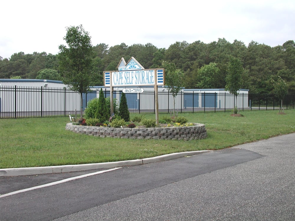 Cape Self Storage: 23 Oyster Rd, Cape May Court House, NJ