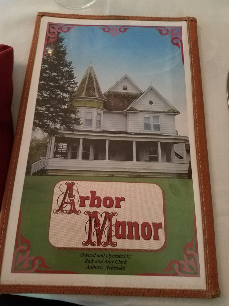 Arbor Manor Steakhouse & Lounge: 1617 Central Ave, Auburn, NE