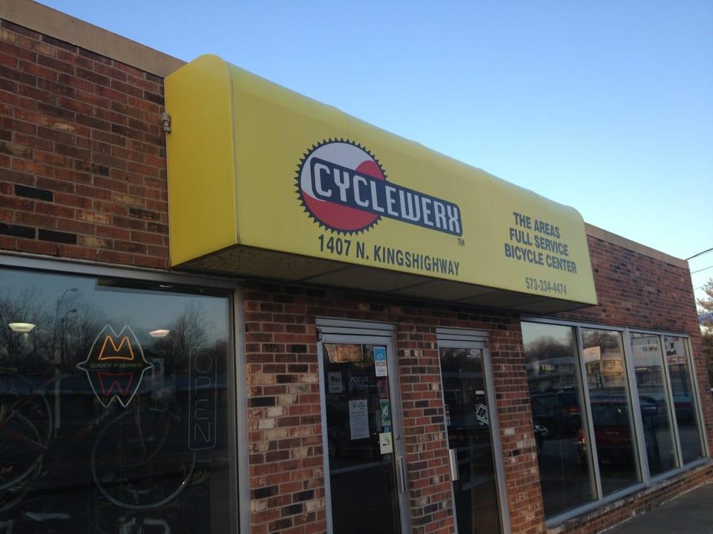 Cyclewerx: 1407 N Kingshighway, Cape Girardeau, MO