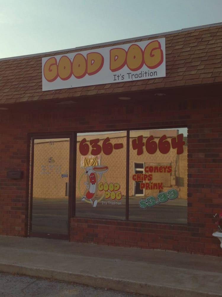 Good Dog Coney Shop: 111 E Chestnut St, Coweta, OK