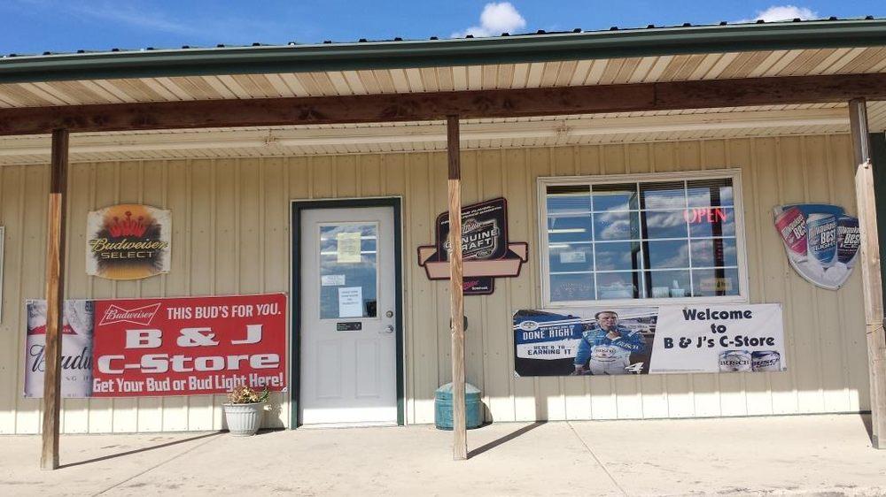 B & J Convenience Store: 13703 US Hwy 212, Alzada, MT