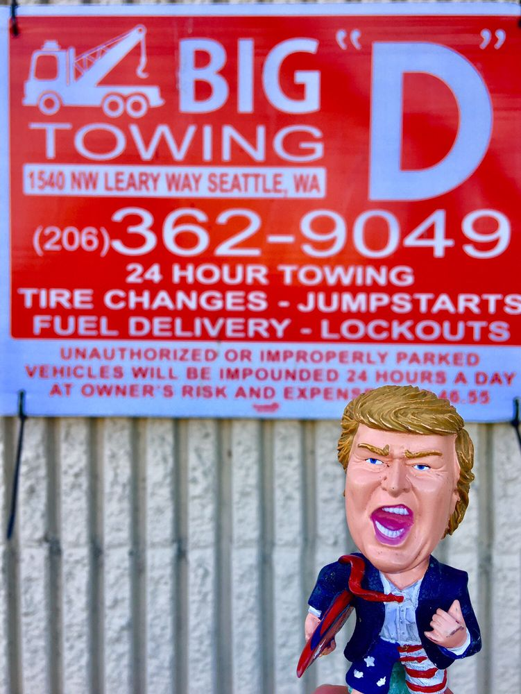 Big D Towing: 908 NW 49th St, Seattle, WA
