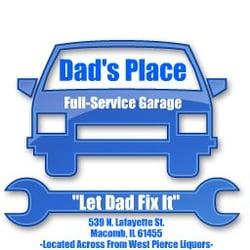 Dad S Place Auto Repair 539 N Lafayette St Macomb Il Phone
