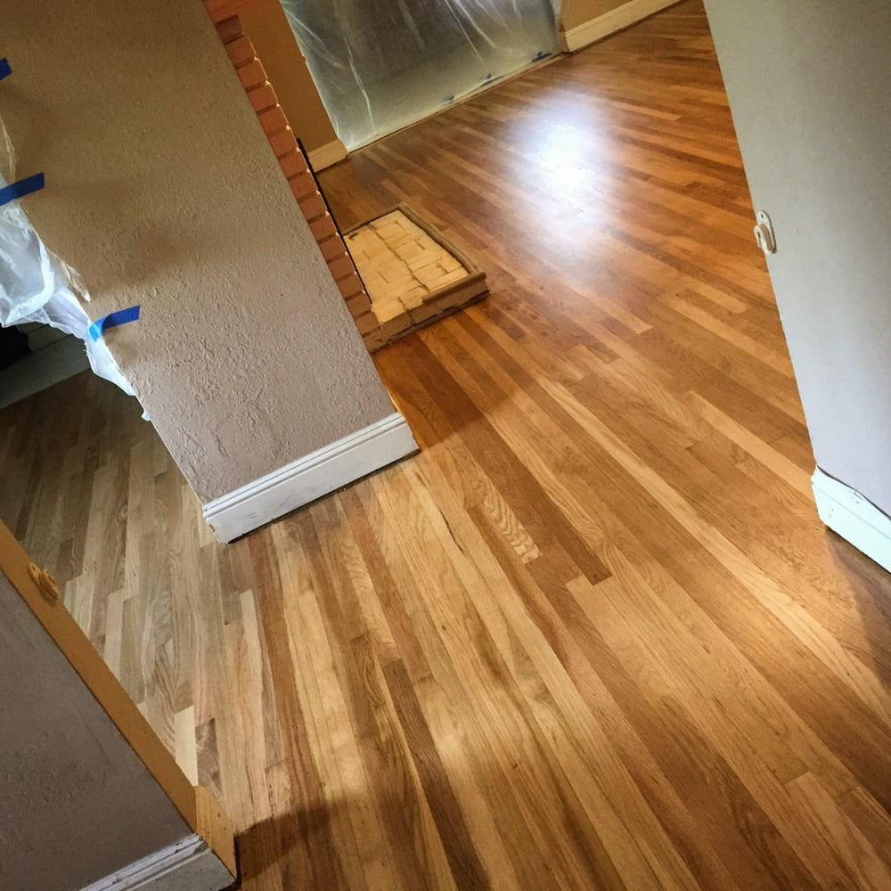 All natural 1959 hardwood white oak unstained yelp Unstained hardwood floors