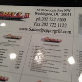 Salt And Pepper Dc salt and pepper grill iii - closed - 24 photos & 32 reviews