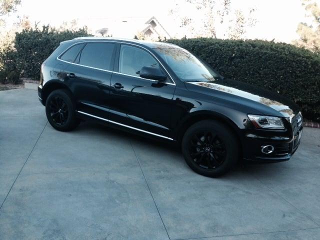 Audi Q5 Satin Black Wheels Yelp