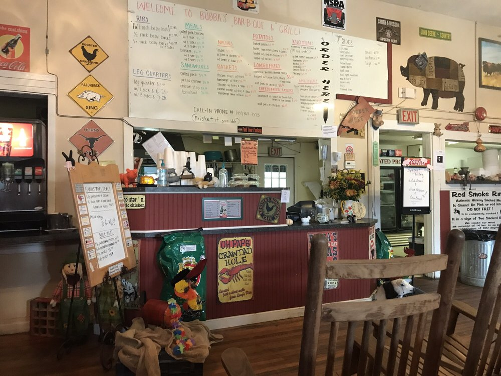 Bubba's BBQ and Grill: 5650 S York Hwy, Grimsley, TN