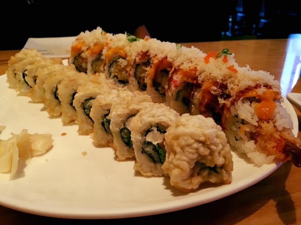 Fire Dragon Maki roll & deep-fried Philly roll (BOGO) - Yelp