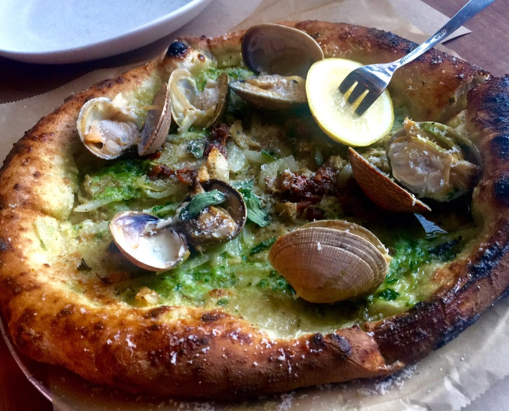 vongole (clam) pizza Yelp