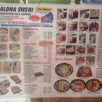 Aloha sushi 50 photos 89 reviews japanese 1778 ala for Aloha asian cuisine sushi