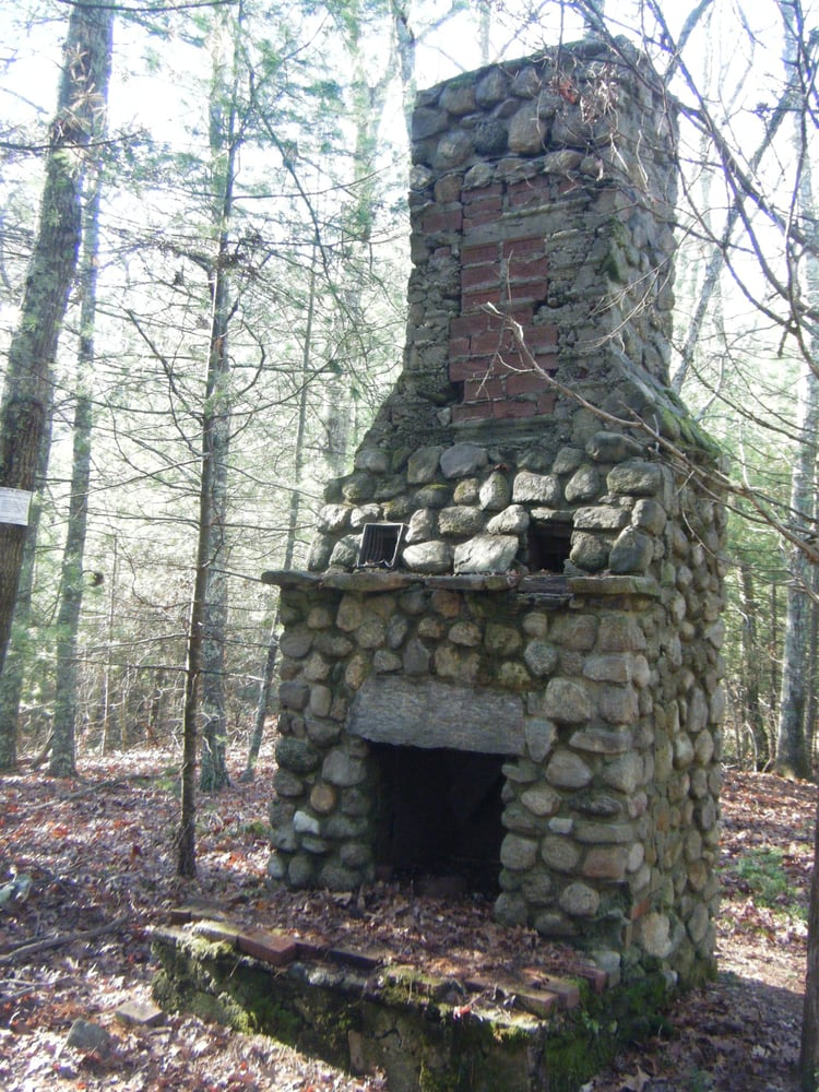 Old Chimney In The Middle Of The Woods Yelp