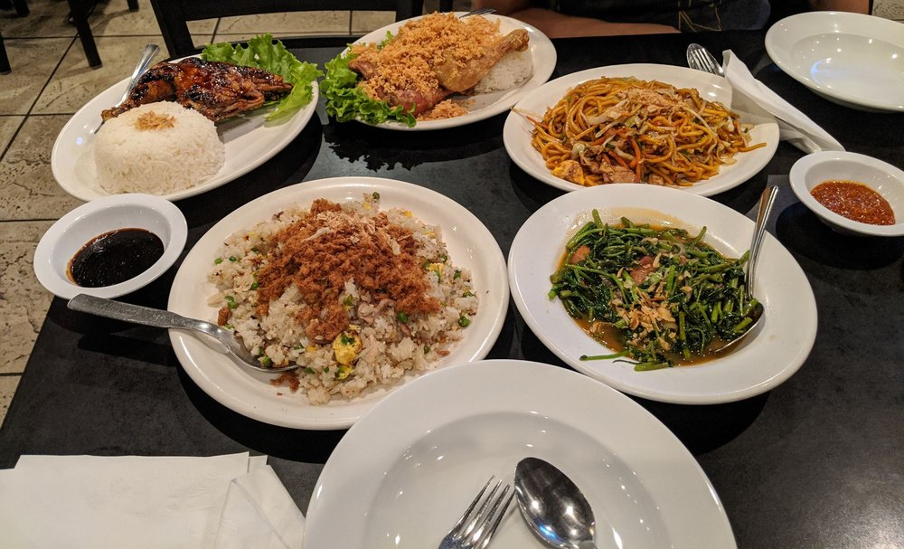 Food from Indo Cafe