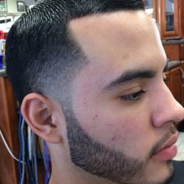 Taper with beard line up Yelp