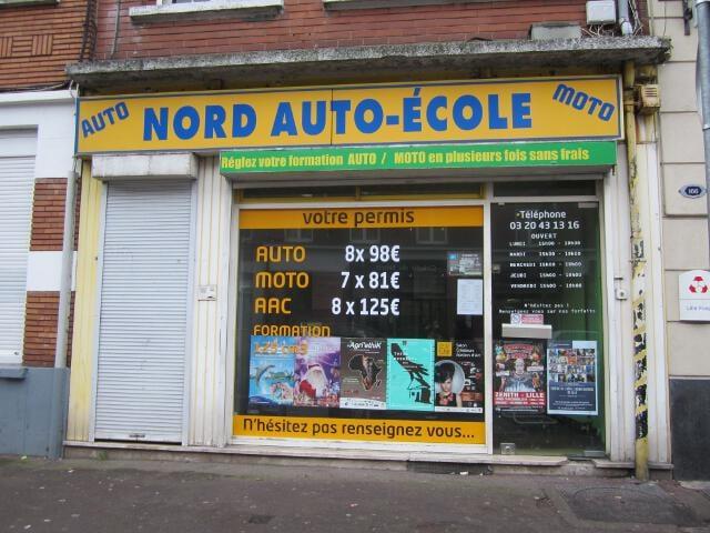 nord auto ecole driving schools 168 rue pierre legrand. Black Bedroom Furniture Sets. Home Design Ideas