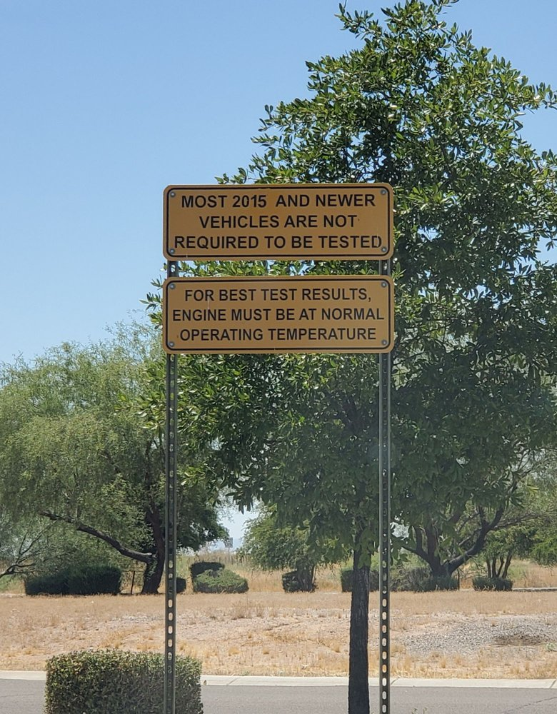 Vehicle Emissions Inspection: 585 East 39th Ave, Apache Junction, AZ