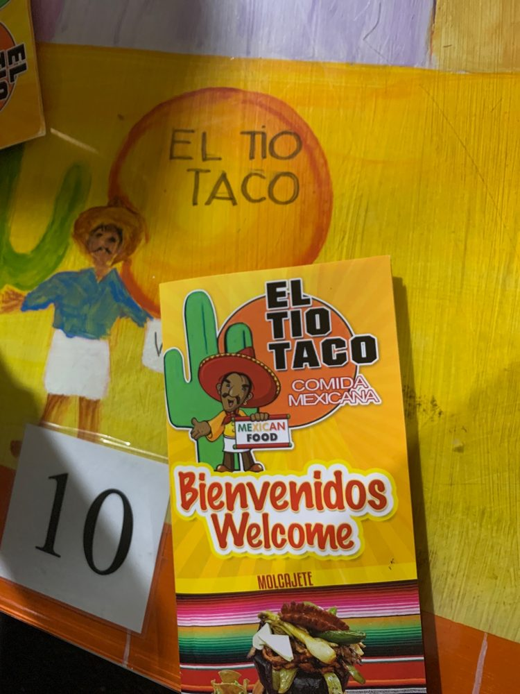 El Tio Taco: 332 Bergen Blvd, Fairview, NJ