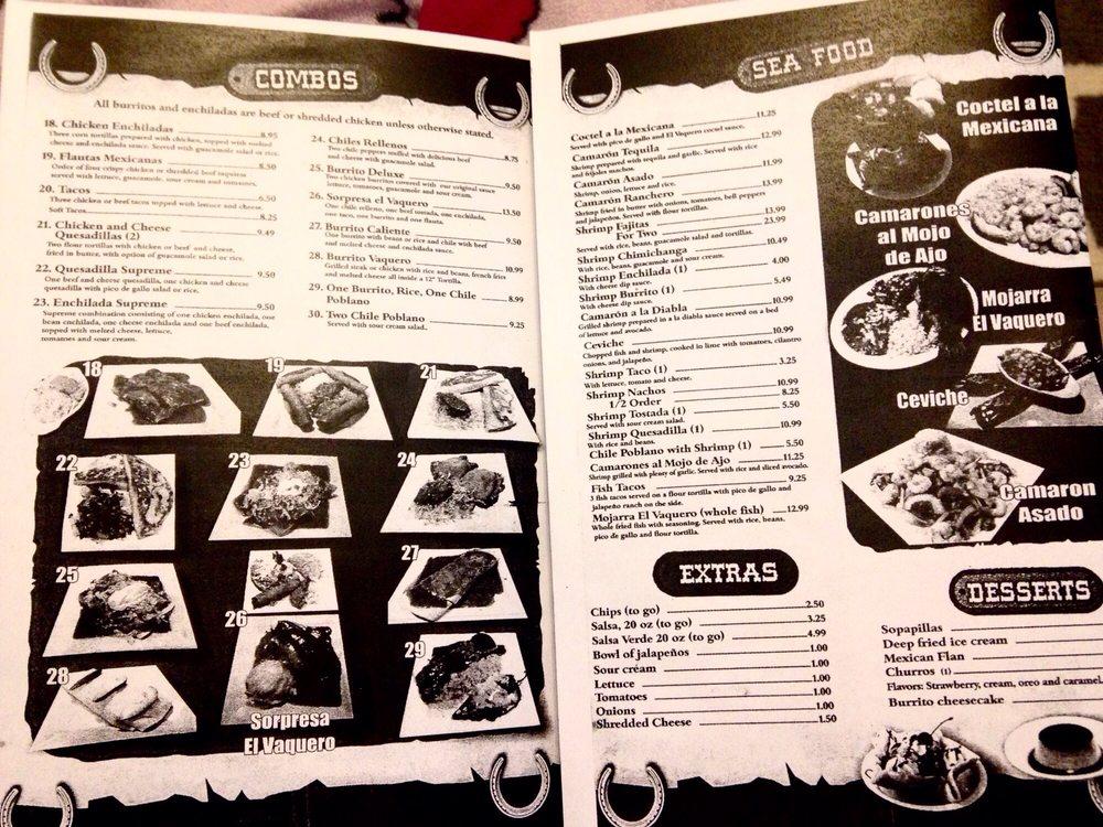 El Vaquero Mexican Restaurant: 1839 Stadium Dr, Phenix City, AL