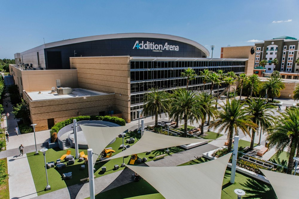 Addition Financial Arena at UCF: 12777 Gemini Blvd N, Orlando, FL