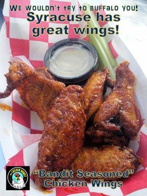 The Chicken Bandit 211 W Jefferson St Syracuse Ny Hamburger Hot
