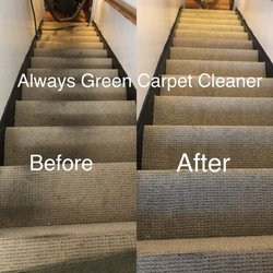 Photo Of Always Green Carpet Cleaner Brooklyn Ny United States Stairs Cleaning