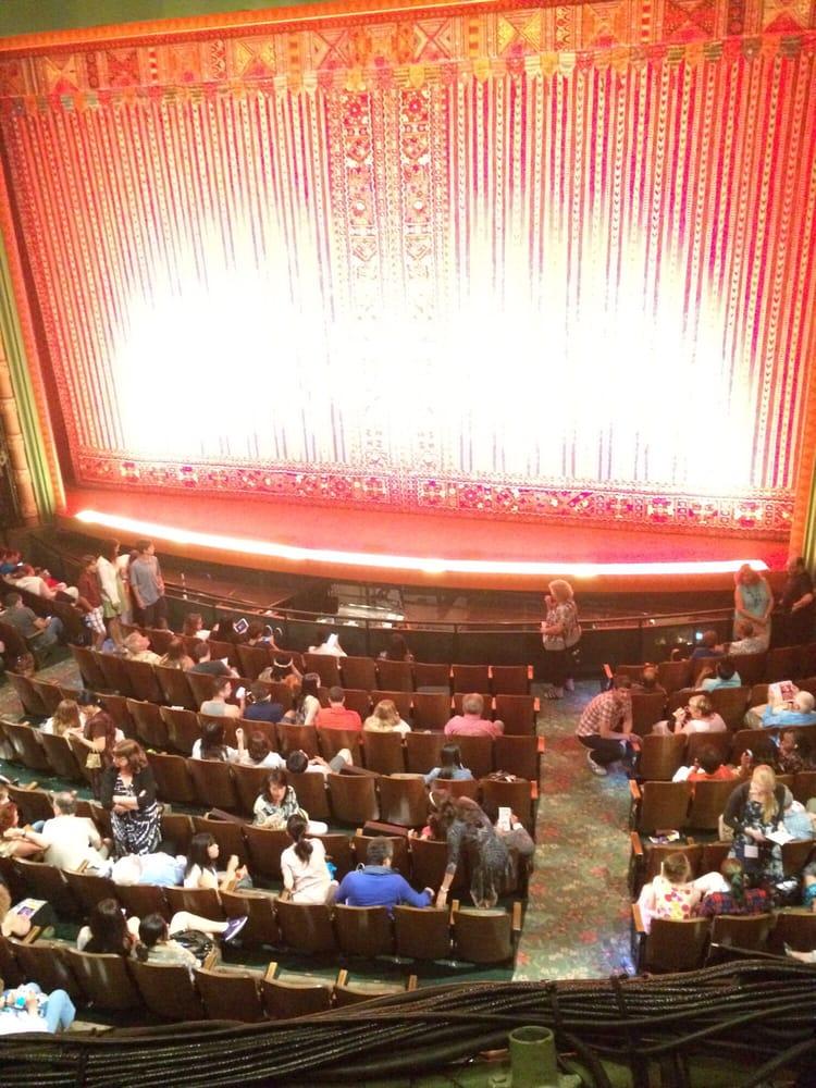 View seats by location mezzanine row aa yelp for New york balcony view