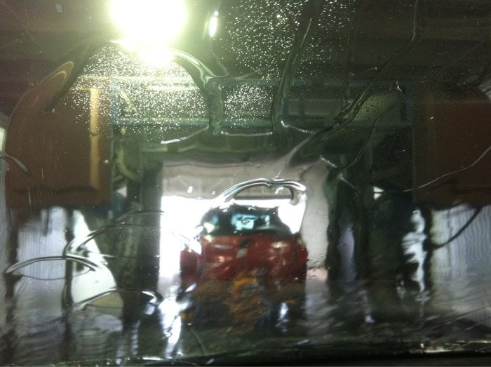Smith Brothers Car Wash: Dryers And Rinse.