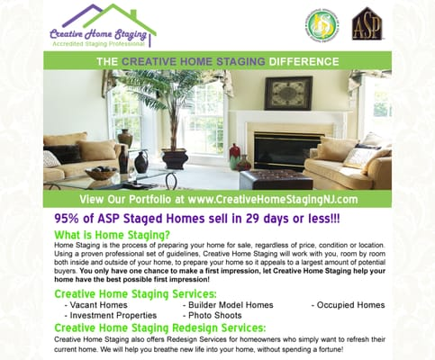 Creative Home Staging - Get Quote - Interior Design - 204 Coventry on home inspection flyer, home cleaning flyer, home security flyer, home buying flyer, home maintenance flyer, organizing your home flyer, home listing flyer, home insurance flyer, home repairs flyer,